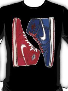AIR JORDAN 1 RETRO: RED MEETS BLUE T-Shirt