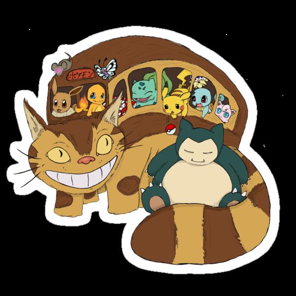 Poke' School Bus by CartoonGirl