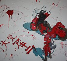 Blood Lust Akira by Laura Mancini