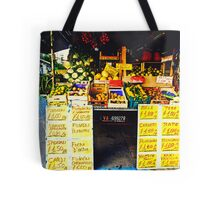 We're buying fruit in Lecce.. Tote Bag