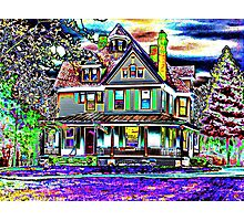 House of Vivid Dreams Photographic Print