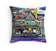 House of Vivid Dreams Throw Pillow