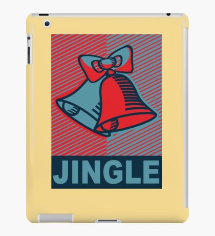 JINGLE-OBEY iPad Case/Skin