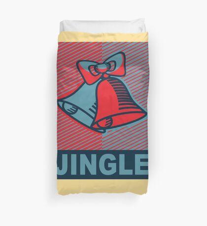 JINGLE-OBEY Duvet Cover