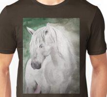 Cathy's white horse Unisex T-Shirt