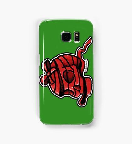 Red Ribbon Skull Samsung Galaxy Case/Skin