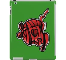 Red Ribbon Skull iPad Case/Skin