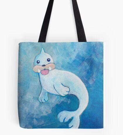 Pokemon Painting - Seel Tote Bag