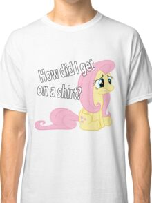 Fluttershy out of place Classic T-Shirt