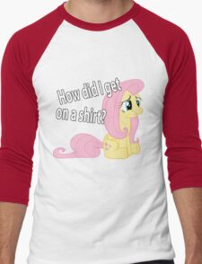 Fluttershy out of place Men's Baseball ¾ T-Shirt