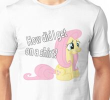 Fluttershy out of place Unisex T-Shirt