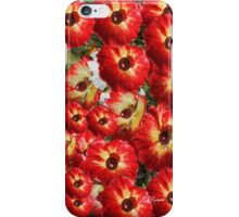 iPhone Red Flowers iPhone Case/Skin