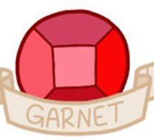 Steven Universe- Garnet Gem Sticker by sbear4000
