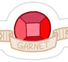 Steven Universe- Garnet Gem Sticker Sticker