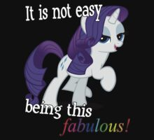 Rarity is fabulous by KittyLover