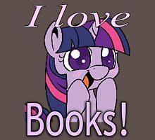 Twilight loves books Unisex T-Shirt