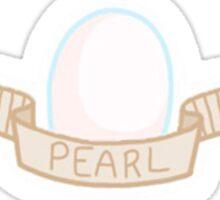 Steven Universe- Pearl Gem Sticker Sticker