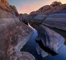 Down Channel by Bob Larson