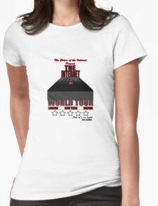 The Internet World Tour - IT Crowd Womens Fitted T-Shirt