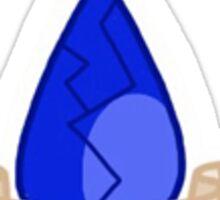 Steven Universe- Lapis Lazuli Gem Sticker Sticker