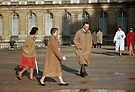 Visitors to Versailles 19570914 0037  by Fred Mitchell