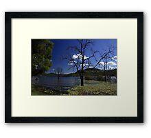Maroon Dam Queensland Framed Print