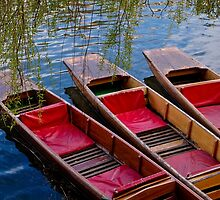 Punting Boats by Deb Maidment