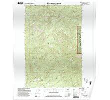 USGS Topo Map Washington State WA Bernier Creek 240022 2000 24000 Poster