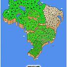 Super Mario Brazil (Print Version) by Rodrigo Marckezini