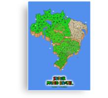 Super Mario Brazil (Print Version) Canvas Print