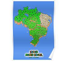 Super Mario Brazil (Print Version) Poster