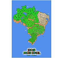 Super Mario Brazil (Print Version) Photographic Print