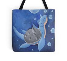 Pokemon Painting - Lapras Tote Bag