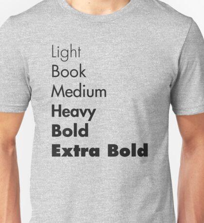 Weights of Futura Unisex T-Shirt