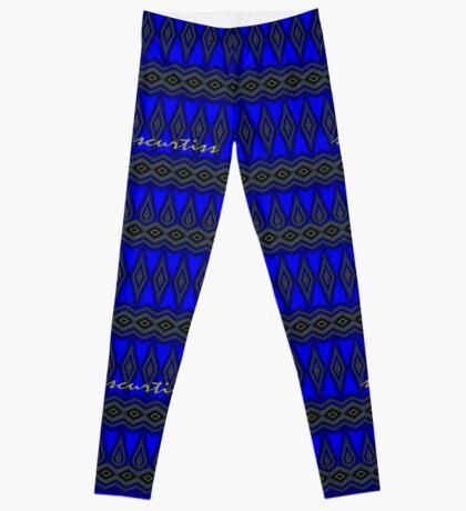 Blue Diamonds Leggings