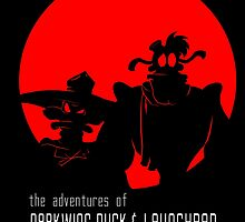 The Adventures of Darkwing Duck & Launchpad by Inspired Human