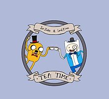Tea Time by CartoonGirl