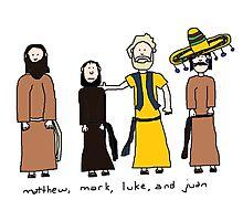 Matthew, Mark, Luke, and Juan Photographic Print