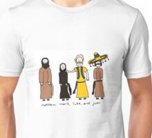 Matthew, Mark, Luke, and Juan Unisex T-Shirt