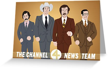 The Channel 4 News Team by Nathan James