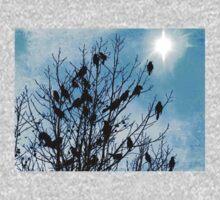 Bird Watchers One Piece - Long Sleeve