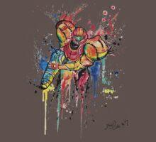 Epic Samus Aran - Watercolor Streetart T shirts + More! Kids Clothes