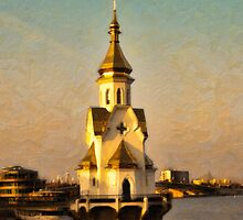 Orthodox Church, Kiev by Graham Prentice