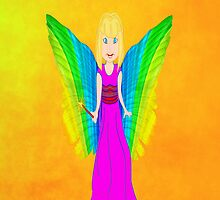 Fairy Godmother iPhone Case by Dennis Melling