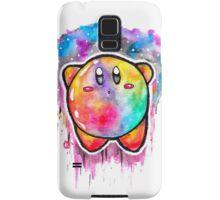 Cute Galaxy KIRBY - Watercolor Painting - Nintendo Jonny2may Samsung Galaxy Case/Skin