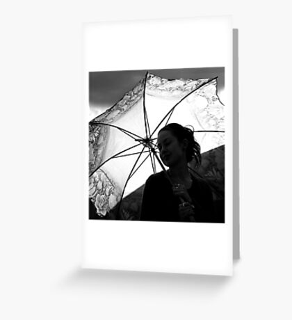 sunshine & silhouettes Greeting Card