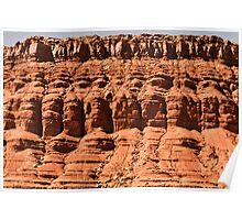Vermillion Cliffs - 4 © Poster