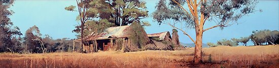 Overgrown Ruins of Tintinhull Inn, Moonbi, NSW, Australia. (2011) by Martin Lom