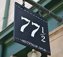 Shop Number 77 & a 1/2 by PaperRosePhoto
