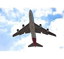 Low flying plane Photographic Print